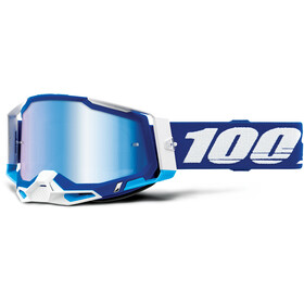 100% Racecraft Anti-Fog Goggles Gen2, blue/mirror